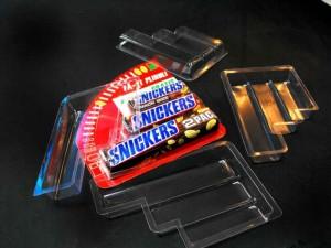 Blistere pentru batoane ciocolata blistere batoane snikers Blistere batoane Snikers blistere pentru lipit pe carton 206 3