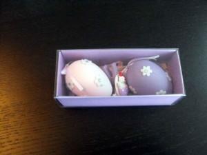Cutii carton pentru cadouri cutii carton ornamente paste Cutii carton ornamente Paste cutie carton colorat oua ornamentale paste 1096 21