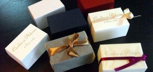 cutii marturii nunta