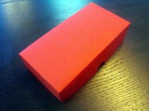 Cutii din carton colorat