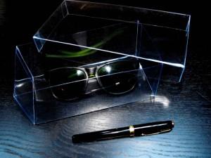 Cutii plastic pentru ochelari