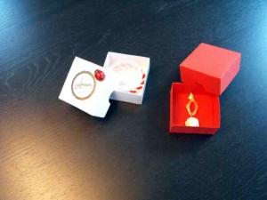 Cutiute din carton pentru bijuterii