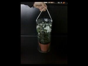 Cilindri pentru ghiveci cu flori