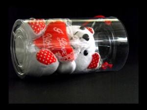 Cilindri din plastic pentru jucarii cutii cilindrice Cutii cilindrice plusuri ambalaj pentru figurine din plus 281 5 300x225
