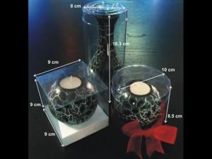 Cutii cilindrice pentru decoratiuni