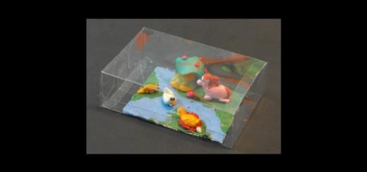 Cutiute plastic pentru jucarii