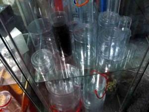 Cilindri din plastic cilindri plastic Cilindri plastic cutii cilindrice pentru cadouri 1566 42