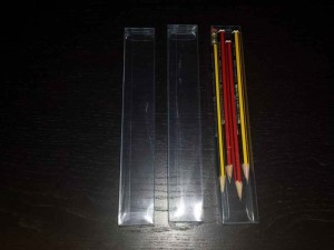 Cutii plastic pentru creioane
