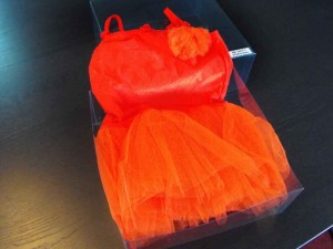 Cutii plastic pentru rochite