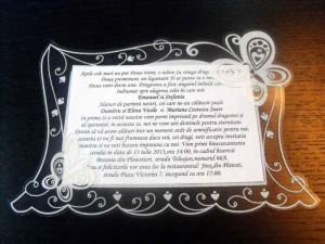 Invitatii de nunta personalizate invitatii de nunta si botez Invitatii de nunta si botez invitatii nunta personalizate 1060 1