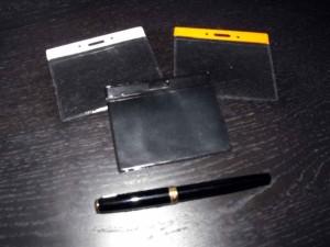 Posetute pentru legitimatii  posetute ecusoane Posetute ecusoane posetute plastic pentru ecusoane 1495 1