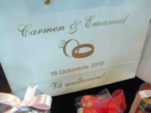 Sacose pentru marturii de nunta sacose personalizate marturii de nunta Sacose personalizate marturii de nunta sacose hartie marturii nunta 1030 4