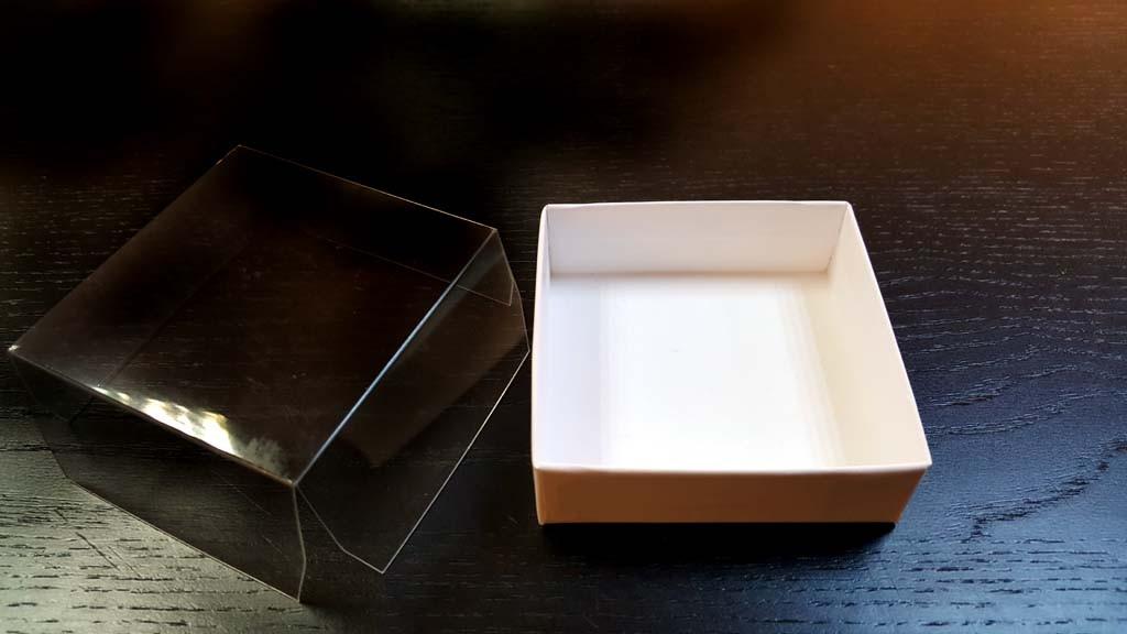Cutie de lux capac transparent - 3