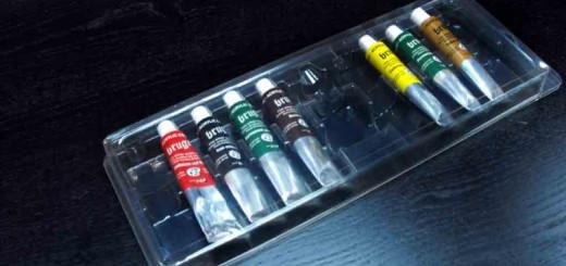 blistere tuburi acrilice pictura blistere tuburi acrilice pictura Blistere tuburi acrilice pictura blistere plastic pentru tuburi acrilice 1394 1 520x245