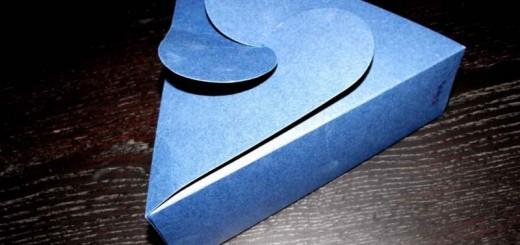 cutii forma triunghi