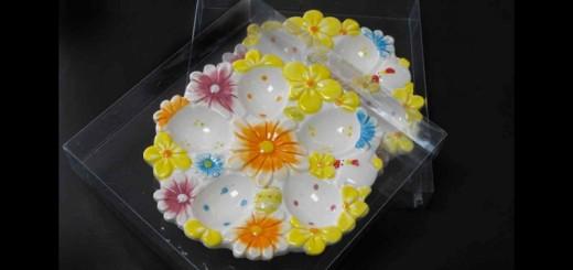 cutii plastic farfurie decorativa