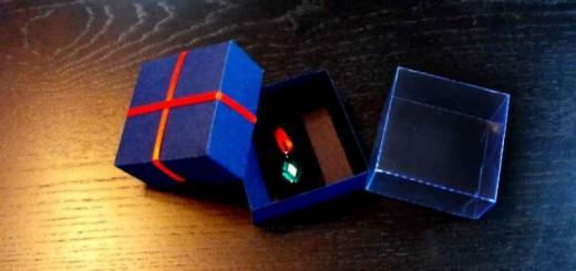 Cutii carton pentru pandantiv