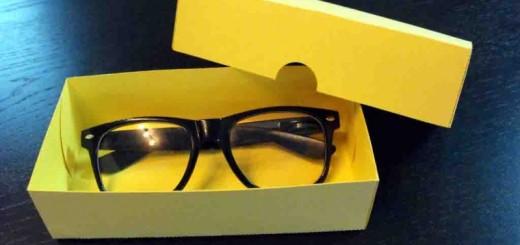 cutii carton ochelari