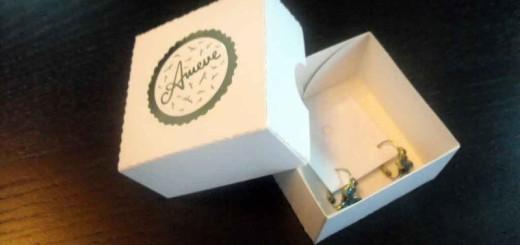 cutii carton cercei