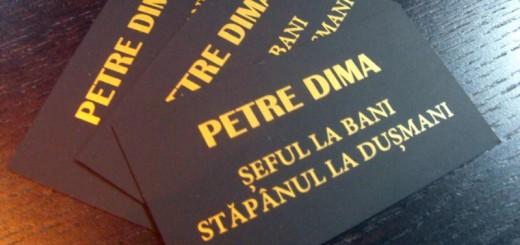 carti de vizita serigrafie auriu