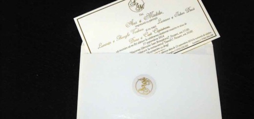 Plicuri carton invitatii nunta