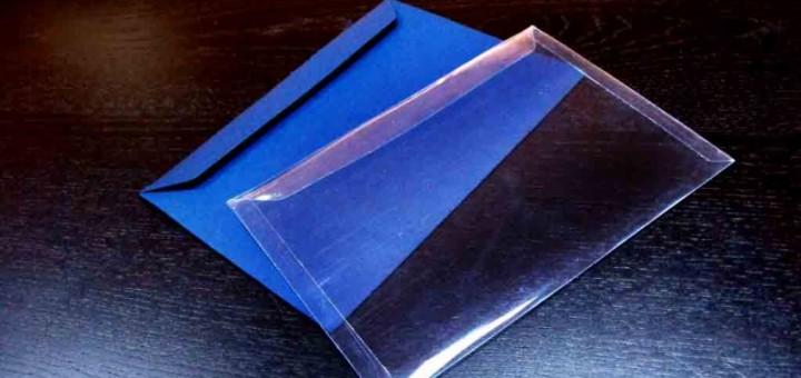 Plicuri din plastic pentru felicitari