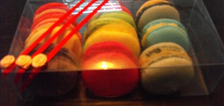 cutii personalizate macarons