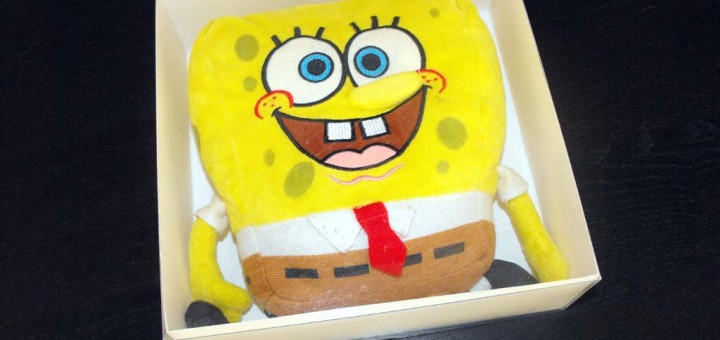 cutii din plastic spongebob