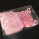cutie din plastic rochie