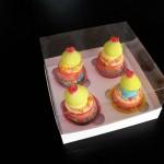cutii prajituri marturii cutie Cutie pentru 4 prajituri, cupcakes, muffins, briose DSCF1339 150x150
