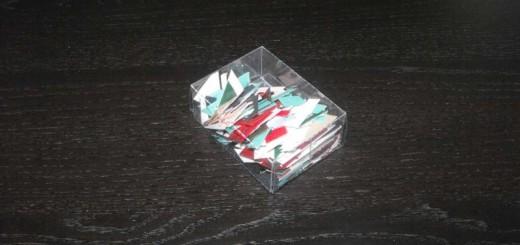 cutiuta plastic pentru puzzle