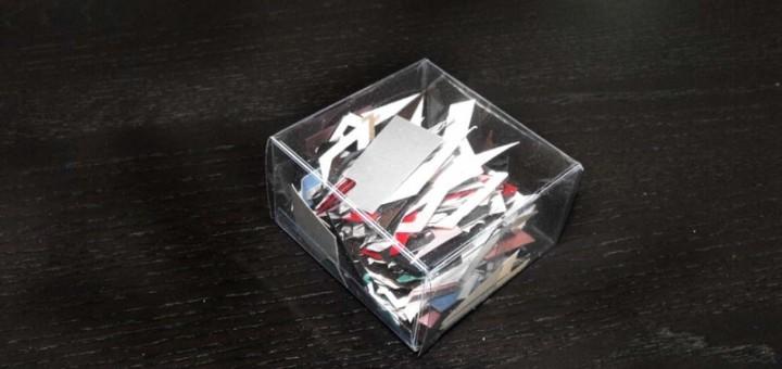Cutiuta pentru puzzle