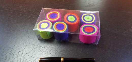 Cutie din plastic transparent