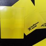 buzunare din plastic transparent Buzunare din plastic transparent sau colorat Buzunare protectie carduri 4 150x150