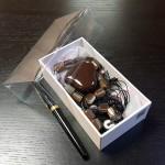 cutie de lux pentru bijuterii Cutie de lux pentru bijuterii, cercei, bratari, coliere, butoni, papioane 224 150x150