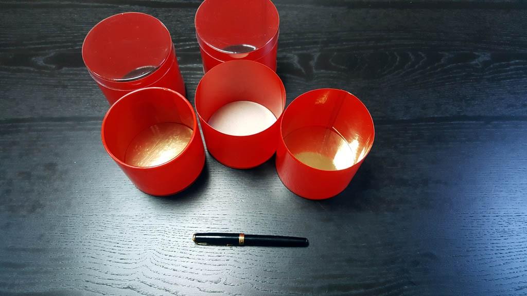 Cilindru colorat cu baza rigida - 8