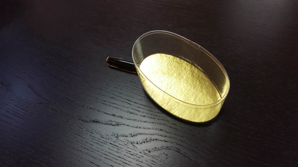 Cilindru oval (elipsa) cu fundul din carton gros - 4
