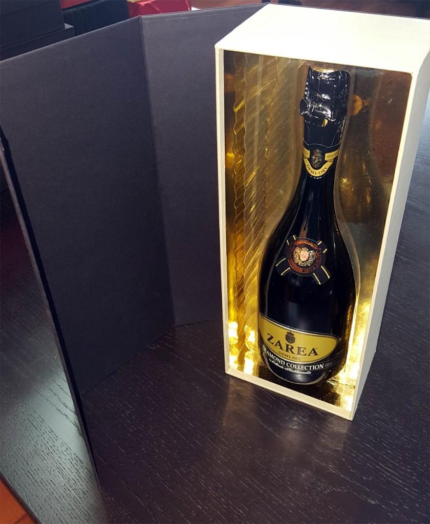 cutie de lux pentru sticle Cutie de lux pentru sticle cu bauturi (sampanie, vin) 3 840x1024