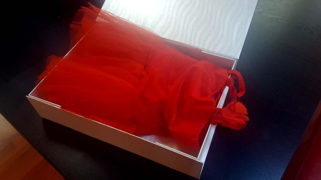 Cutie de lux pentru rochite - 2