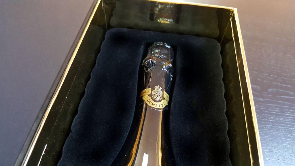 Cutie de lux pentru sticle - 13