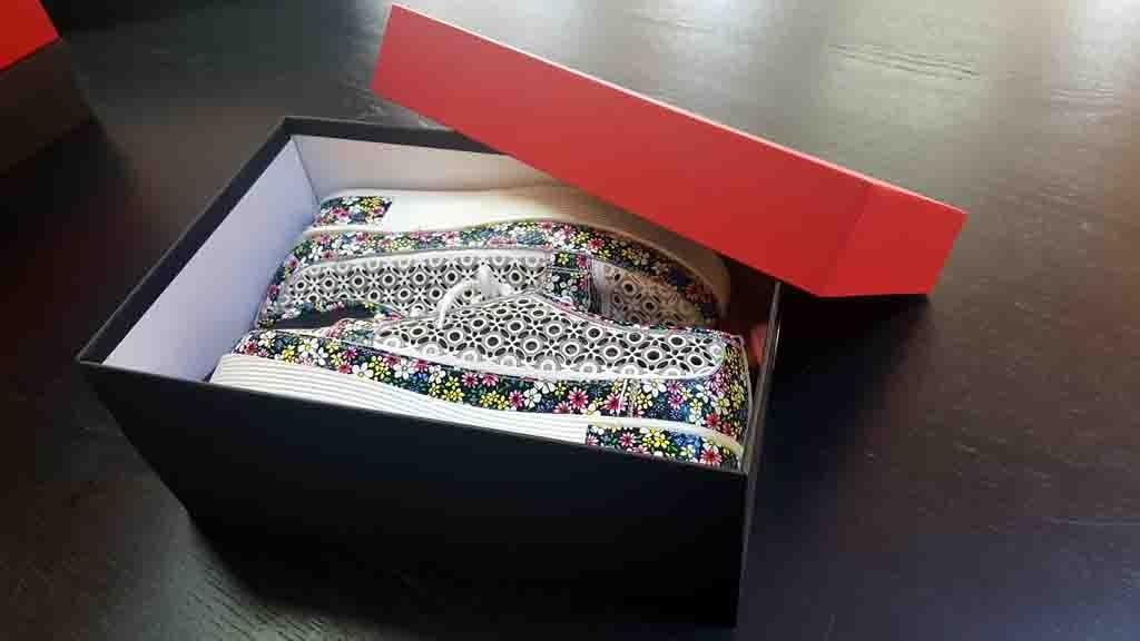 Cutie rigida pentru pantofi casual - 2