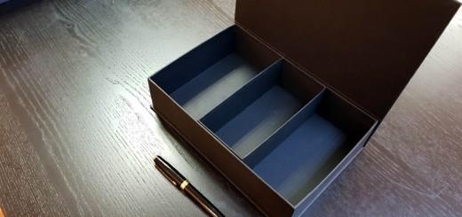 Cutie rigida pentru accesorii barbati
