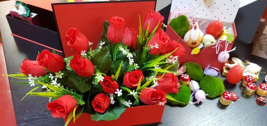 Cutie tip carte pentru aranjamente florale Cutie tip carte pentru aranjamente florale 20180319 101157 520x245